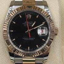 Rolex Datejust Turn-O-Graph Acero y oro 36mm Negro Sin cifras México, Los Mochis