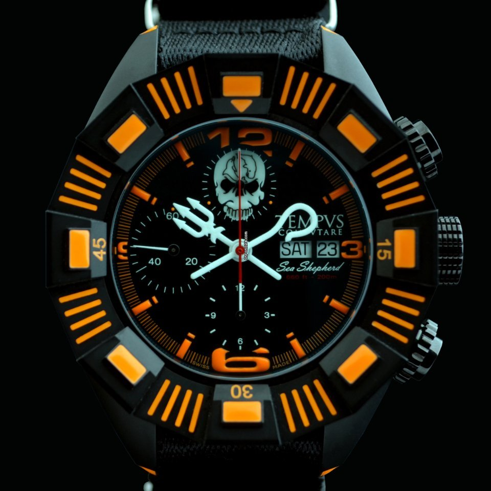 Tempvs Compvtare Sea Shepherd Watch 47mm SALE For 6403