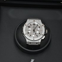 Hublot Platinum Automatic Silver Arabic numerals 44mm pre-owned Big Bang 44 mm