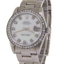 Rolex Lady-Datejust pre-owned 31mm White Date Steel