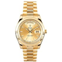 Rolex Used 218238_used_champagne_stick Day-Date II President...