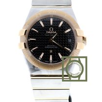 Omega Constellation Co-Axial 35mm Pink Gold NEW