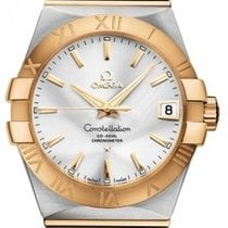 Omega 123.20.38.21.02.002 Constellation 38mm in 2-Tone Steel -...