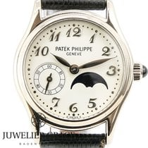 Patek Philippe Calatrava Mondphase Whitegold Original Papers