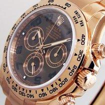 Rolex Daytona 116505 Pink Everose Gold Chocolate Brown Dial...