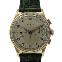 Zenith Stellina pre-owned 38mm Yellow gold