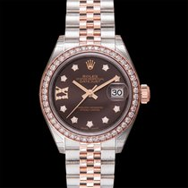 Rolex Lady-Datejust Rose gold 28mm Brown United States of America, California, San Mateo