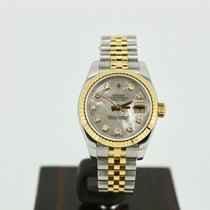 Rolex Lady-Datejust 26mm Diamond Mother of Pearl Dial