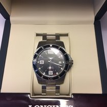 Longines 41mm Automatisk 2017 ny HydroConquest Sort