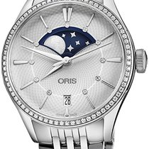 Oris Artelier Date new Automatic Watch with original box and original papers 01 763 7723 4951-07 8 18 79