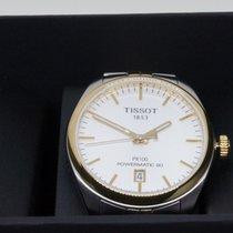Tissot PR 100 Zeljezo 38mm Bjel Rimski brojevi