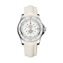 Breitling Superocean II 36 Steel 36mm White Arabic numerals