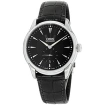 Oris Artelier Small Second Steel 40mm Black United States of America, New York, Brooklyn