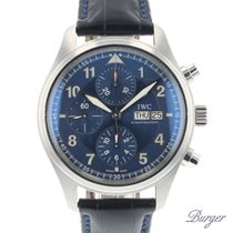 IWC Pilot Spitfire Chronograph pre-owned 42mm Steel