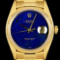 Rolex Datejust (Submodel) pre-owned 36mm Yellow gold