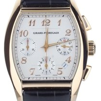 Girard Perregaux Or rose Remontage automatique Blanc 37mm occasion Richeville