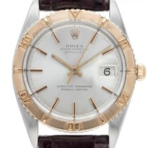 Rolex Datejust Turn-O-Graph Gold/Steel 36mm Silver