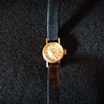Patek Philippe Vintage Oro amarillo 15.5mm Plata Sin cifras