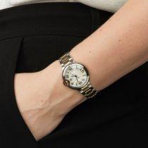 Cartier Ballon Bleu 33mm Złoto/Stal 33mm Biały Rzymskie