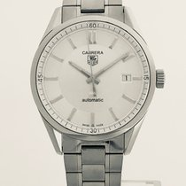 TAG Heuer pre-owned Automatic 39mm Silver Sapphire crystal 5 ATM