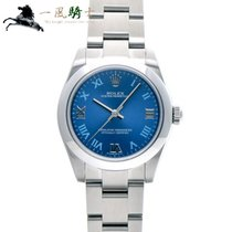 Rolex Oyster Perpetual 31 Staal 31mm Blauw