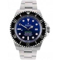 Rolex Sea-Dweller Deepsea Steel 44mm Blue No numerals United Kingdom, Blackburn