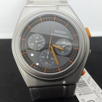 Seiko Spirit Steel 43mm Silver No numerals
