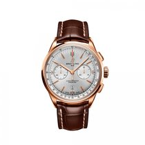 Breitling Red gold Automatic Silver 42mm new