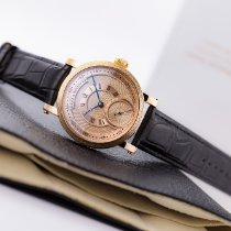 Benzinger Rose gold 43.5mm Manual winding Grieb & Benzinger Boutique Guilloche Skeleton new
