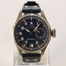 IWC Big Pilot Platinum 46mm Blue No numerals