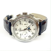Zenith El Primero Chronomaster pre-owned 40mm Mother of pearl Moon phase Chronograph Date Month Steel