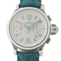 Jaeger-LeCoultre Master Compressor Chronograph Steel 37mm White Arabic numerals United States of America, New York, New York