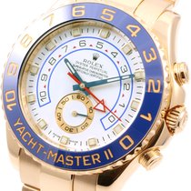 Rolex 18K Yellow Gold Yachtmaster ll - Box and Papers