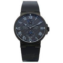 Ulysse Nardin Marine Chronometer 41mm 263-66LE-3C/42-BLACK новые