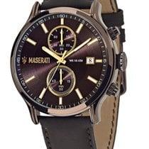 Maserati Stahl 48mm Quarz R8871618006 neu