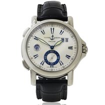 Ulysse Nardin 40mm Automatic 2009 pre-owned Dual Time White