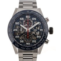 TAG Heuer Carrera Red Bull Racing Edition 45 Chronograph Steel...