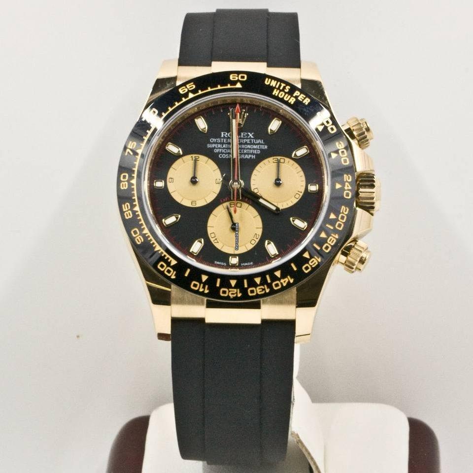 Rolex Daytona For Sale >> Rolex Daytona 116518 Ceramic Bezel Black Dial Rolex Box