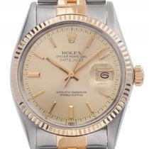 Rolex Datejust Stahl Gelbgold Automatik Armband Jubilé 36mm...