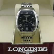 Longines - Evidenza - Chronograph - Ref. L2.643.4 - No Reserve