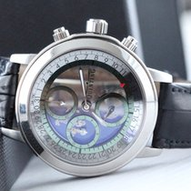 Quinting Ατσάλι 44mm Χαλαζίας Quinting Mysterious chronograph μεταχειρισμένο