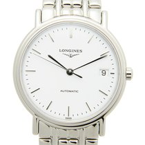 浪琴 Presence Stainless Steel White Automatic L4.821.4.12.6