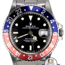 Rolex 1986 Rolex GMT-Master Pepsi Blue Red FADED Patina 16750...