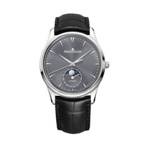 Jaeger-LeCoultre Master Ultra Thin Moon White gold 39mm Grey United States of America, Iowa
