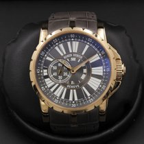 Roger Dubuis Excalibur pre-owned 45mm Rose gold