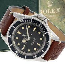 """Rolex Wristwatch: early Rolex Submariner """"Meters First"""" with..."""