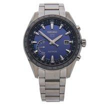 Seiko Astron GPS Solar Chronograph Titanium 45mm Blue No numerals United States of America, Pennsylvania, Bala Cynwyd