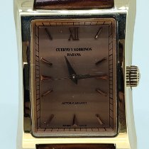 Cuervo y Sobrinos Rose gold Automatic Bronze Roman numerals 47mm pre-owned Espléndidos