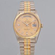 Rolex 36mm Automatik 1989 gebraucht Day-Date 36