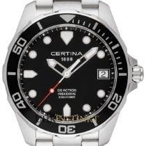 Certina Steel 41mm Quartz C032.410.11.051.00 new